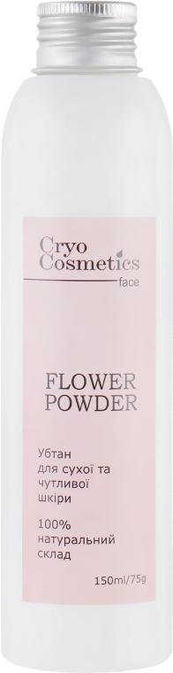 Убтан для сухой и чувствительной кожи - Cryo Cosmetics Flower Powder
