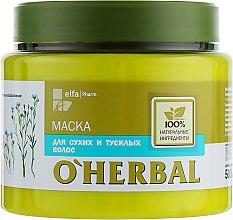 Духи, Парфюмерия, косметика Маска для сухих и тусклых волос - O'Herbal