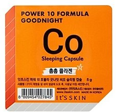 Духи, Парфюмерия, косметика Ночная маска-капсула коллагеновая - It's Skin Power 10 Formula Goodnight Sleeping Capsule CO