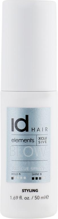 Питательный защитный спрей для окрашенных волос - idHair Elements Xclusive 911 Rescue Spray