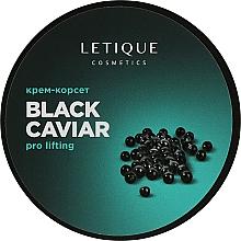 "Духи, Парфюмерия, косметика Крем-лифтинг ""Чёрная икра"" - Letique Cosmetics Pro Lifting Black Caviar"