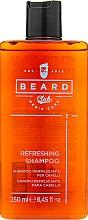 Духи, Парфюмерия, косметика Освежающий шампунь для всех типов волос - Beard Club Shampoo