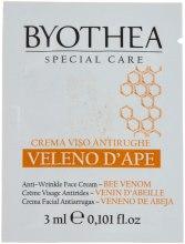 Духи, Парфюмерия, косметика Крем от морщин с пчелиным ядом для лица - Byothea Anti-Wrinkle Face Cream With Bee Venom (пробник)