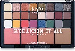 Духи, Парфюмерия, косметика Палитра для макияжа - NYX Professional Makeup Such A Know-It-All