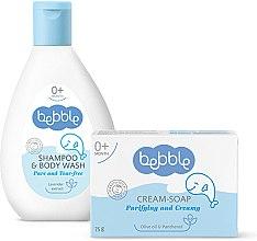 Духи, Парфюмерия, косметика Набор для купания - Bebble (shm/400ml + soap/75g)