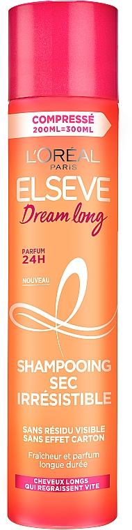 Сухой шампунь для длинных волос, склонных к жирности - L'Oreal Paris Elseve Dream Long