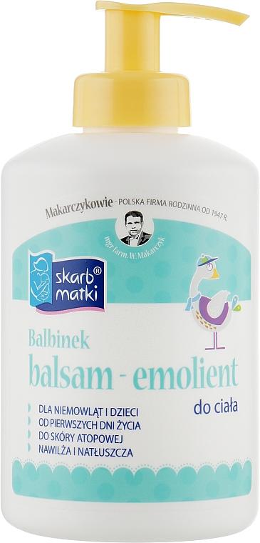 Бальзам для ухода за сухой и атопической кожей - Skarb Matki