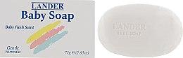 Духи, Парфюмерия, косметика Детское мыло - Lander Baby Bar Soap