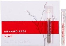 Духи, Парфюмерия, косметика Armand Basi In Red - Туалетная вода 1.2ml (пробник)