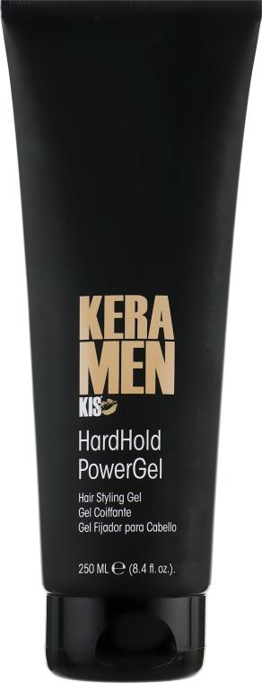 Многофункциональный кератиновый гель - Kis Care KeraMen Hardhold Power Gel