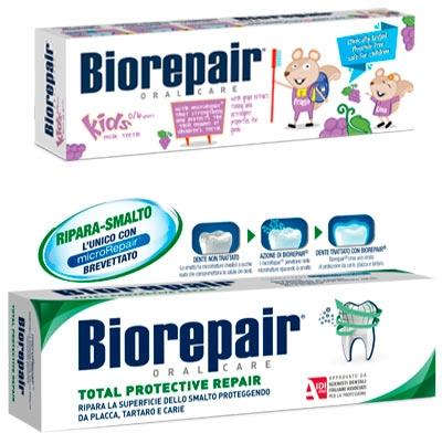 Набор - Biorepair (toothpaste/50 + toothpaste/75ml)