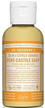 """Духи, Парфюмерия, косметика Жидкое мыло """"Цитрус и апельсин"""" - Dr. Bronner's 18-in-1 Pure Castile Soap Citrus & Orange"""