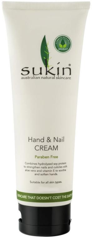 Крем для рук и ногтей - Sukin Hand & Nail Cream