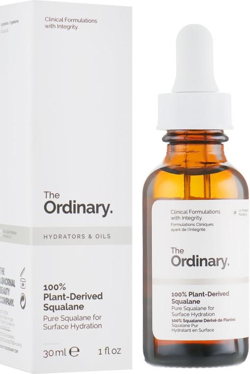 Сквалановое масло 100% натуральности - The Ordinary 100% Plant-Derived Squalane