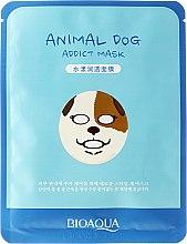 "Духи, Парфюмерия, косметика Тканевая маска для лица в зверином стиле ""Собака"" - Bioaqua Animal Dog Addict Mask"