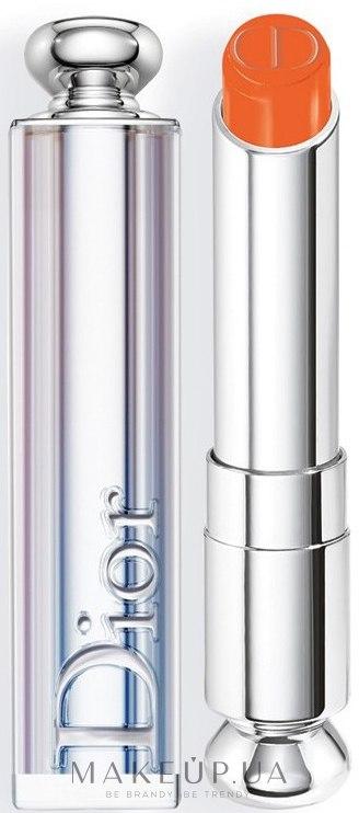 Помада для губ - Dior Addict Lipstick Hydra Gel Core Mirror Shine — фото 438 - Orange Wave