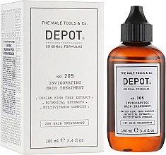 Духи, Парфюмерия, косметика Укрепляющий комплекс против выпадения - Depot 205 Invigorating Hair Treatment