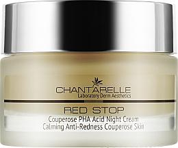 Духи, Парфюмерия, косметика Ночной крем с кислотами PHA - Chantarelle Couperose PHA Acid Night Cream