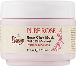 Духи, Парфюмерия, косметика Глиняная маска для лица - Farmasi Dr. Tuna Pure Rose Rose Clay Mask