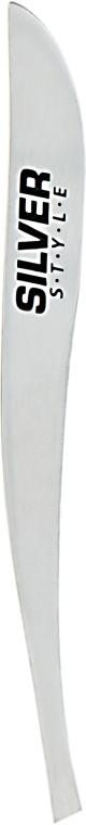 Пинцет скошеный SP7094, 9 см - Silver Style