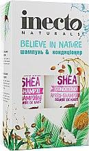 Духи, Парфюмерия, косметика Набор - Inecto Naturals Shea (shm/500ml + cond/500ml)