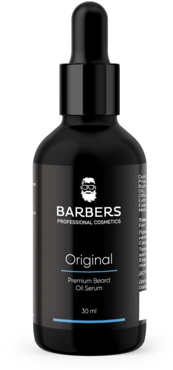 Масло-сыворотка для бороды - Barbers Original Premium Beard Oil Serum