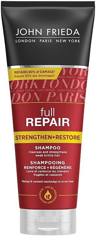"""Укрепляющий восстанавливающий шампунь для волос """"Полное восстановление"""" - John Frieda Full Repair Repair Strengthen & Restore Shampoo"""