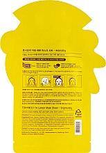 Листовая маска для лица - Tony Moly I'm Real Lemon Mask Sheet — фото N2
