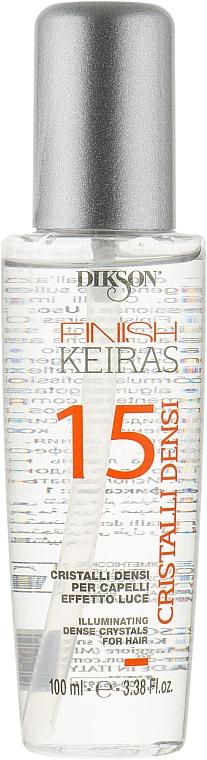 Жидкие кристаллы для волос - Dikson Keiras Finish 15 Cristalli Densi
