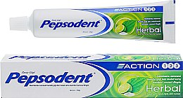 "Духи, Парфюмерия, косметика Зубная паста ""Тройная защита на травах"" - Pepsodent Action123 Herbal Toothpaste"