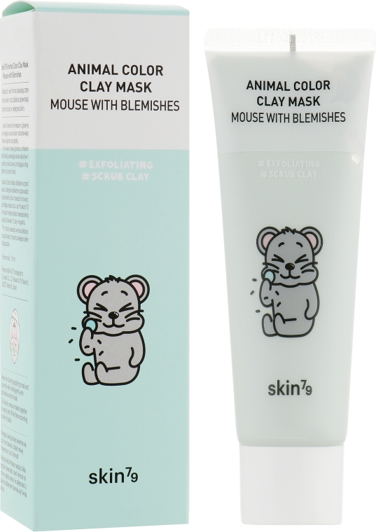 Очищающая глиняная маска - Skin79 Animal Color Clay Mask Mouse With Blemishes