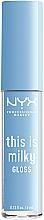 Парфумерія, косметика NYX Professional This Is Milky Gloss Lip Gloss - NYX Professional Makeup This Is Milky Gloss Lip Gloss