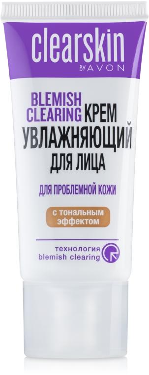 """Крем для лица с тональным эффектом """"Для проблемной кожи"""" - Avon ClearSkin"""