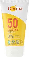 Духи, Парфюмерия, косметика Лосьон для загара солнцезащитный - Derma Sun Lotion SPF50