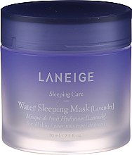 Духи, Парфюмерия, косметика Увлажняющая ночная маска для лица с лавандой - Laneige Water Sleeping Mask Lavender