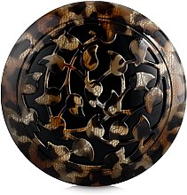 Духи, Парфюмерия, косметика Зеркало карманное, F420, леопардовое - Dessange