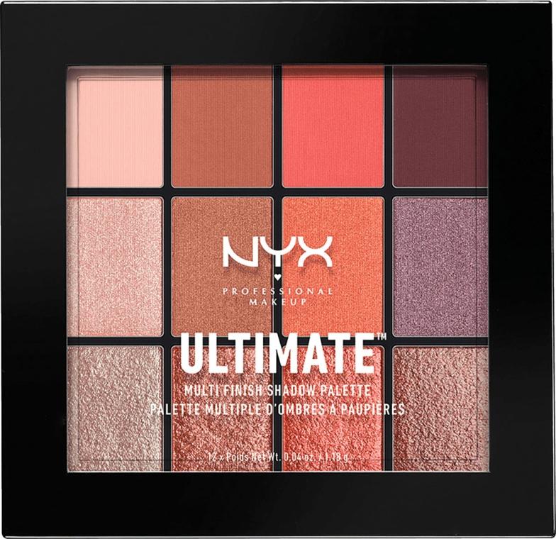 Палетка теней - NYX Professional Makeup Ultimate Multi-Finish Shadow Palette