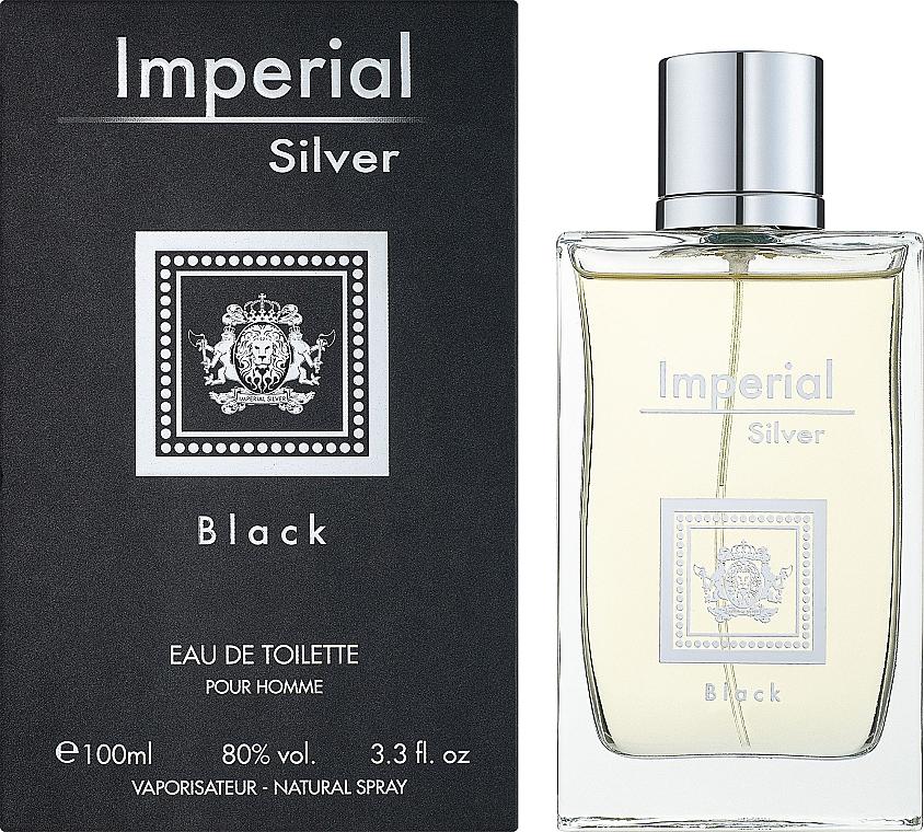 Dina Cosmetics Imperial Silver Black - Туалетна вода — фото N2