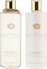 Набор - Grace Cole Boutique Body Care Duo Toasted Praline & Snowberries (b/lot/500ml + b/wash/500ml) — фото N2