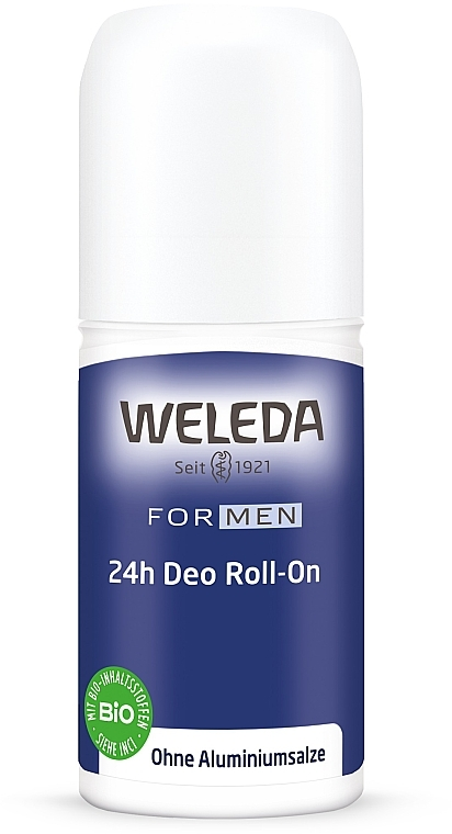 Дезодорант шариковый для мужчин - Weleda 24h Deodorant Roll-On For Men