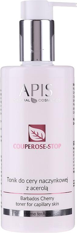 Тоник для чувствительной кожи склонной к куперозу - APIS Professional Cheery Kiss