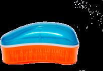 Духи, Парфюмерия, косметика Щетка для волос Mini Summer Turquoise-Tangerine - Dessata Mini Summer Turquoise-Tangerine