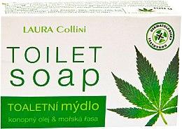 Духи, Парфюмерия, косметика Мыло с водорослями и конопляным маслом - Laura Collini Toilet Soap