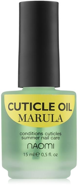 "Масло для кутикулы ""Марула"" - Naomi Cuticle Oil Marule"