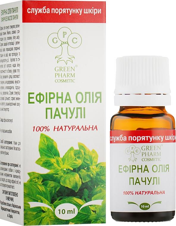 Эфирное масло пачули - Green Pharm Cosmetic