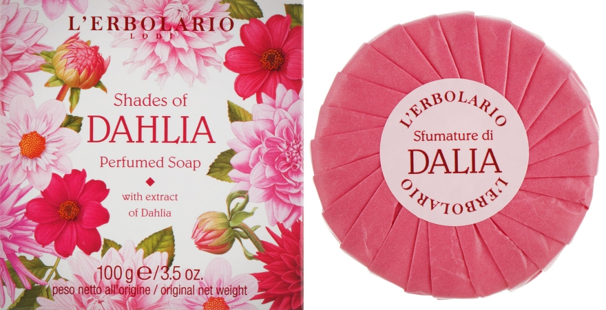 "Ароматное мыло ""Георгин"" - L'erbolario Shades Of Dahlia Perfumed Soap"