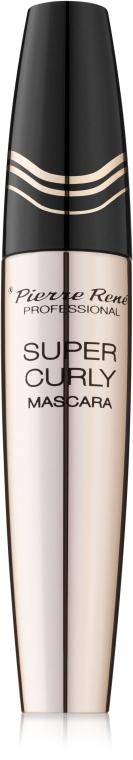 Подкручивающая тушь для ресниц - Pierre Rene Super Curly Mascara