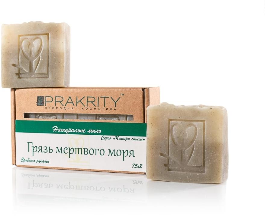 """Натуральное мыло """"Грязи мертвого моря"""" - Prakrity"""