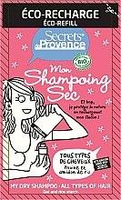 Духи, Парфюмерия, косметика Сухой шампунь для волос - Secrets De Provence My Dry Shampoo All Types Refill (запасной блок)