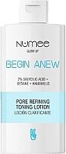 Духи, Парфюмерия, косметика Тонизирующий лосьон для очищения пор - Numee Glow Up Begin Anew Pore Refining Toning Lotion